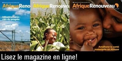 Magazine en ligne Afrique Renouveau
