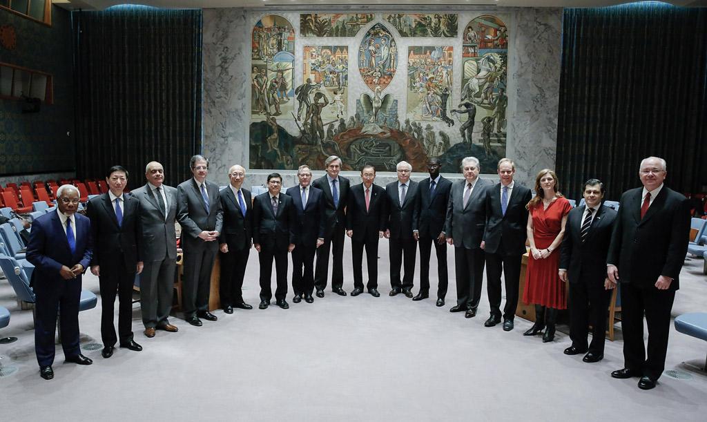 Le conseil de s curit rend hommage ban ki moon l - Bureau de la coordination des affaires humanitaires ...
