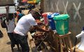 UNMEER assists a densely populated Freetown community to fend off Ebola