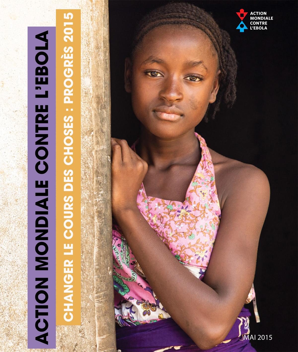 Couverture de la publication intitulée « Changer le cours des choses : progrès 2015 »