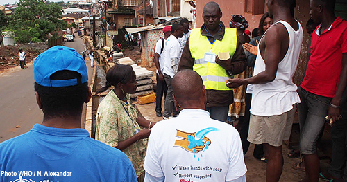 Social mobilization in Sierra Leone - WHO Ebola Diaries series